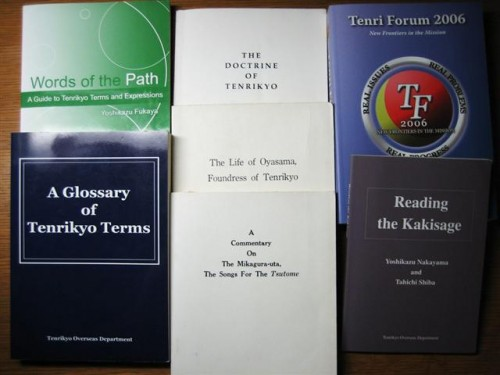 Tenrikyo books in English