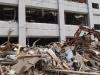 Damage from the Tohoku Earthquake and Tsunami in Sendai. May 8, 2011