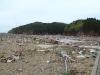 Damage from the Tohoku Earthquake and Tsunami in Ishinomaki City, Sendai. May 9, 2011